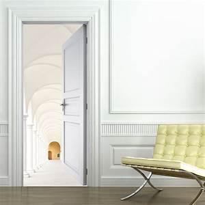 Porte De Couloir : stickers porte couloir pas cher ~ Nature-et-papiers.com Idées de Décoration
