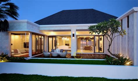 gambar rumah mewah   lantai style villa bali modern