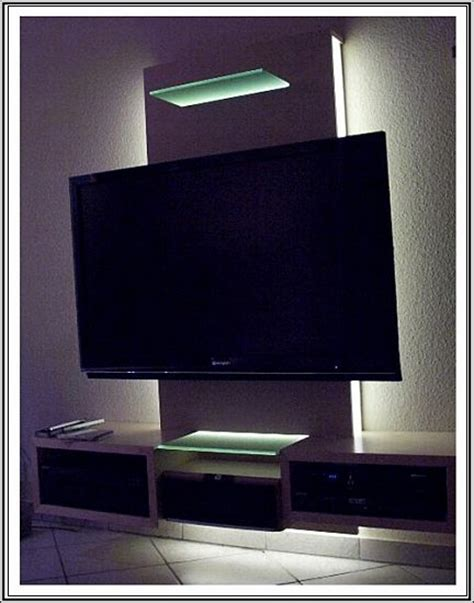 Fernsehwand Mit Beleuchtung by Set Indirekte Led Beleuchtung Plasma Lcd Fernseher