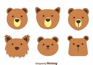 Brown Bear Face Vectors - Download Free Vector Art, Stock ...