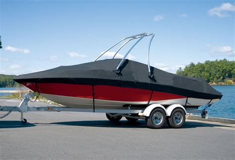 Should You Tow Your Boat With The Cover On by Got You Covered Choosing The Right Boat Cover Material