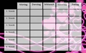 Berühmt Personal Stundenplan Vorlage Zeitgenössisch