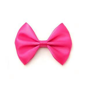 hair ribbon shocking pink satin hair bow 3 inch bow classic hair bow no