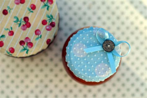 decorating jars with fabric how to make fabric jam jar covers she makes magic