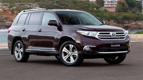The toyota highlander, also known as the toyota kluger (japanese: Toyota Kluger 2012 Review   CarsGuide