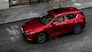 2017 Mazda CX 5 Red Color Park On Road In City Full Top