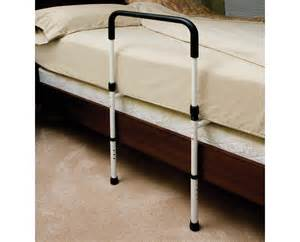 hand bed rail with floor support essential medical supply