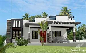 1044 Square Feet 3 Bedroom Contemporary Modern Single Floor Home Design And Plan