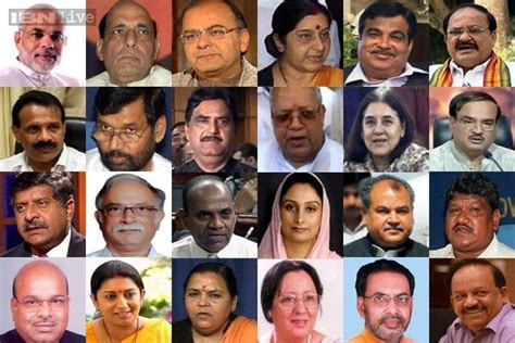 Modi New Cabinet Ministers by Modi S Cabinet Probable Portfolios For The Council Of