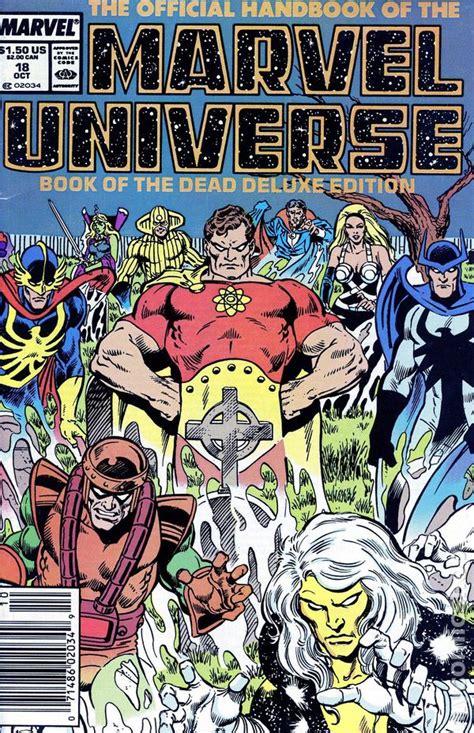 official handbook marvel universe deluxe edition