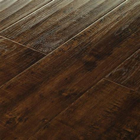 distressed laminate flooring mega clic dark walnut distressed baroque mcb 165 hardwood flooring laminate floors floor