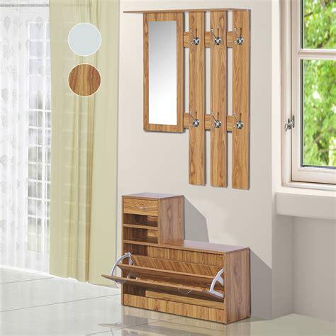 porte manteau de bureau homcom vestiaire d entrée meuble d 39 entrée vestiaire range