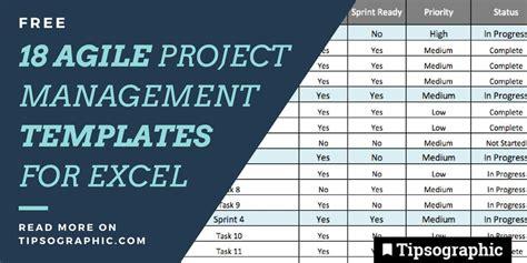 jackpot agile project management templates  excel
