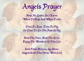 Angels Prayer Scripture