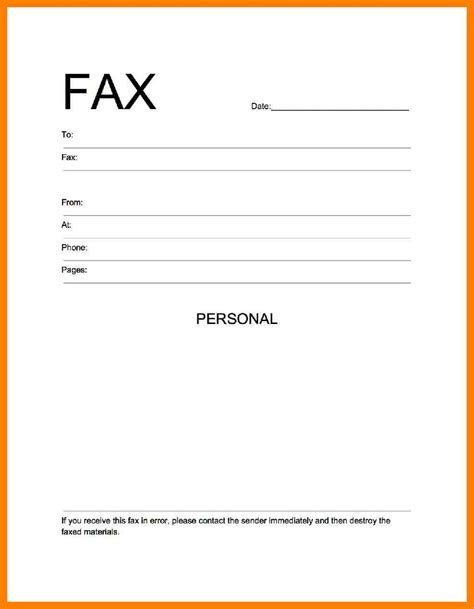 How To Make A Cover Sheet For Your Resume by 5 How To Make Fax Cover Sheet Protect Letters