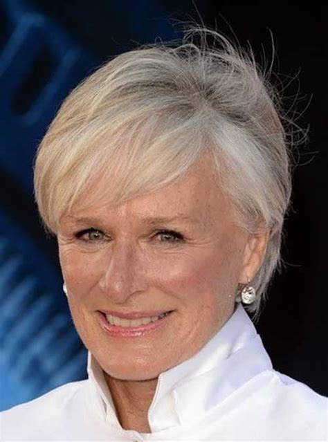 20 Pics of Best Short Haircuts for Women Over 50 Short