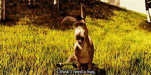 I Think I Need A Hug GIF - Shrek Donkey Sad - Discover ...