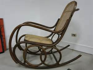bentwood rocking chair by thonet at 1stdibs