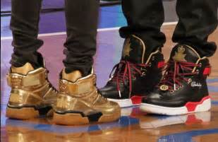 Fabolous u0026 Teyana Tayloru2019s Barclays Centeru2019s u2018Fame u0026 War Packer Shoes x Ewing Athletics ...