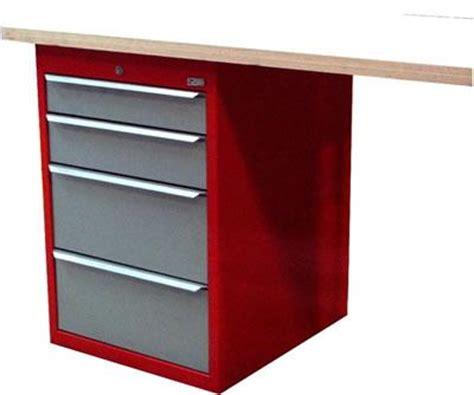 meuble bureau tiroir meuble caisson 4 tiroirs mb4t