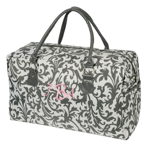 personalized duffle tote weekender carry  bag