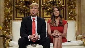 Watch Donald And Melania Trump Christmas Cold Open From