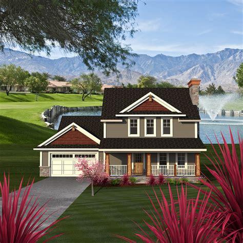 pinecrest craftsman farmhouse plan   house plans