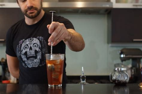 how to make a manhattan home bar project how to make a manhattan the drink nation