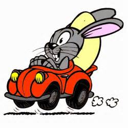 Easter Bunny Cars