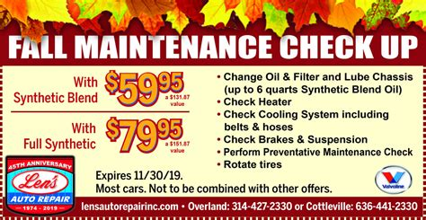 fall special lens auto repair st louis county st