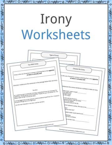 literary devices worksheets lesson plans resources
