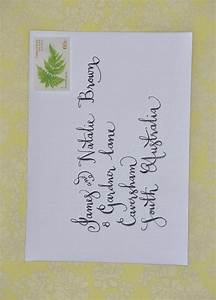 wedding invitation envelope addressing calligraphy by With wedding invitations addressed by hand