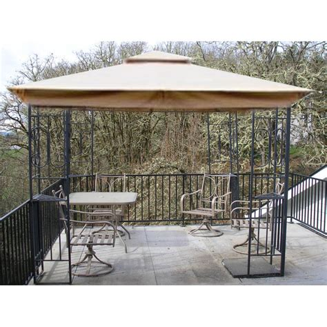 fred meyer patio furniture covers fred meyer 10 x 10 scroll design replacement canopy garden