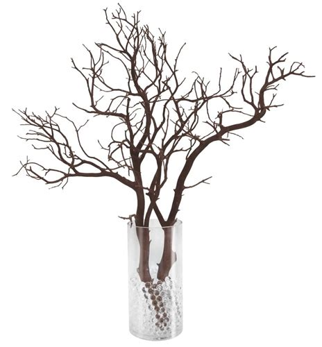 manzanita branch pack 12 complete centerpieces shipping included