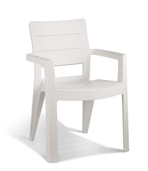 allibert ibiza garden chair white allibert