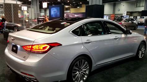 Genesis G80 0 60 by 2019 Hyundai Genesis G80 At 2018 Washington Auto Show