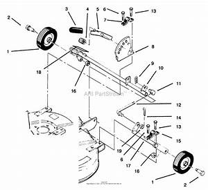Toro 78315  37 U0026quot  Side Discharge Mower  1998  Sn 8900001