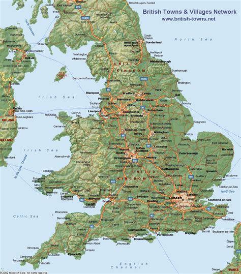 maps map england