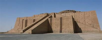 Ur Tombs Royal Ziggurat Iraq Della Mesopotamia