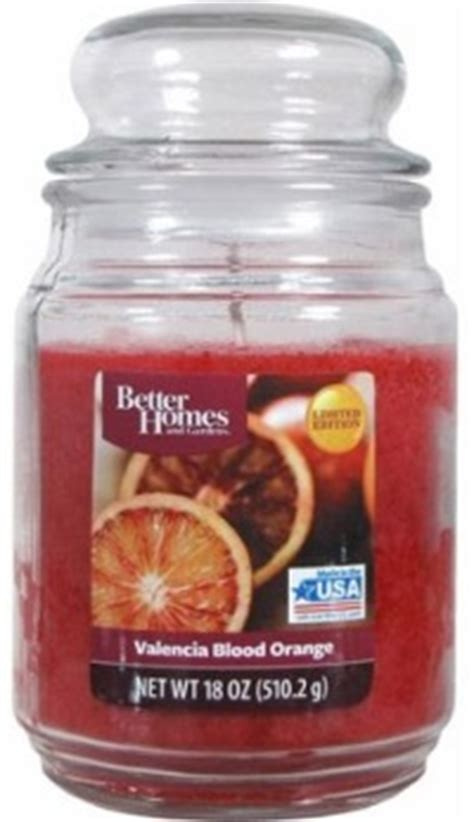 better homes and gardens candles valencia orange candle better homes and gardens
