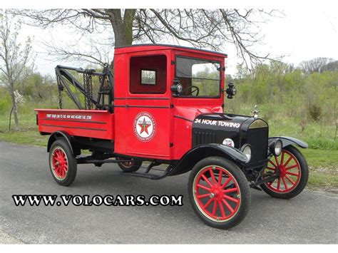 1925 Ford Model Tt Express Tow Truck (texaco) For Sale
