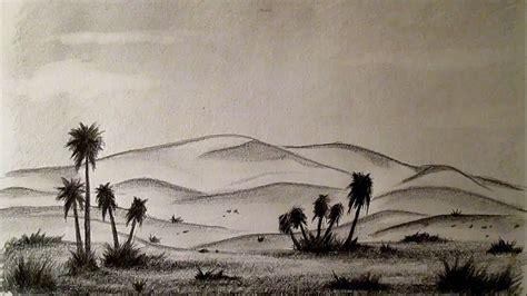 como dibujar  desierto facil paso  paso como dibujar