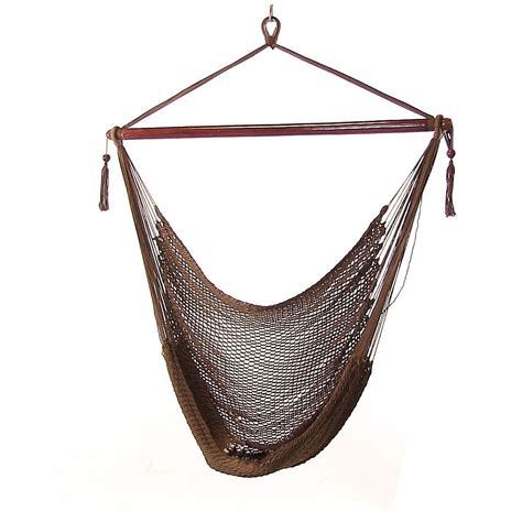 Hanging Hammock by Sunnydaze Hanging Caribbean Xl Hammock Chair 40 Inch Wide