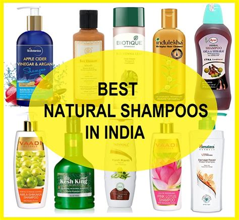 10 Best Natural Shampoos In India For Hair Loss And Hair