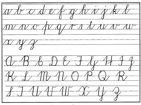how to write cursive letters cursive handwriting a dying missjanice