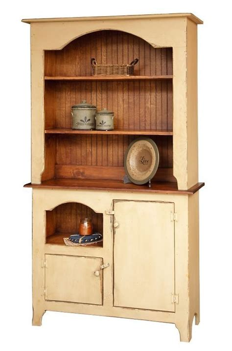 Primitive Country Home Decor Furniture Hutch