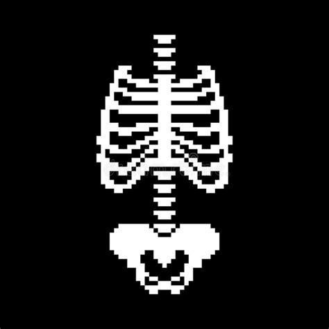 gabbia toracica anatomia sterno ossa di anatomia illustrazione di stock