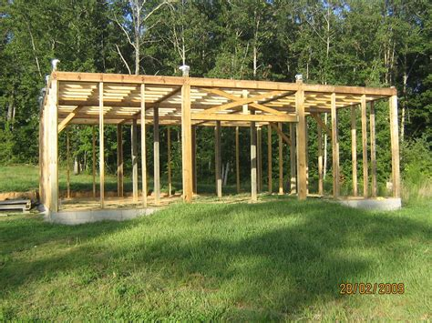 Build A Modified Post And Beam Frame