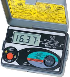 grounding tester kyoritsu 4105a 1 model 4105a earth testers products kyoritsu