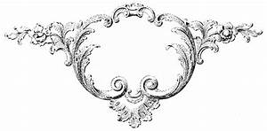 Vintage Clip Art - Ornaments & Frames with Scrolls - The ...